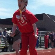 David at the Special Olympics