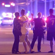 50 were killed many more injured at a shooting at a gay club in Orlando.