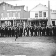 Union soldiers from the First Minnesota Volunteer Infantry