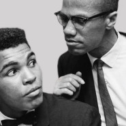 MalcolmX clowning around with Muhammed Ali.